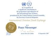 Peace Messenger