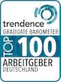 Trendence Graduate Barometer Top 100 Arbeitgeber Deutschland 2016