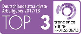 trendence Young Professionals Top 3 2017/18