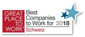Great Place to Work Schweiz 2018
