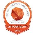 Die attraktivisten Arbeitgeber Deutschland Universium 2019