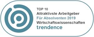 Top 10 Attraktivste Arbeitgeber für Absolventa 2019