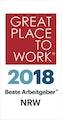 Great Place to Work 2018 – Beste Arbeitgeber NRW