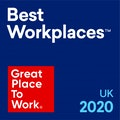 UK's Best Workplaces 2020 - Medium Category (Rank 39)