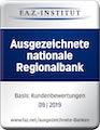 siegel-ausgezeichnete -national Regionalbank