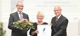 Bester Arbeitgeber im Landkreis Dahme-Spreewald 2017