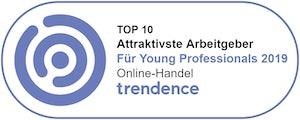 Attraktivste Arbeitgeber für Young Professionals 2019