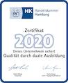 Auszeichnung für Duale Ausbildung