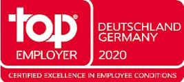 Top Employer Deutschland 2020