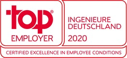 Top Employer Ingenieure Deutschland 2020