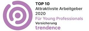 Attraktivste Arbeitgeber für Young Professionals  2020