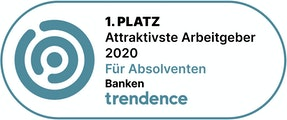 1. Platz Attraktivste Arbeitgeber 2020 Banken