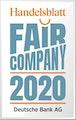 Fair Company 2020 Handelsblatt