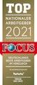 Focus Top Arbeitgeber 2017-2021