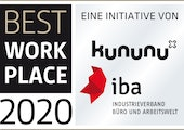 IBA Best Workplace Award 2020