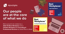 Great Place to Work Awards 2021
