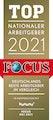 Focus Top Arbeitgeber 2021