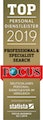 Germany FOCUS Award Professional & Specialist Search 2019