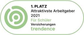 1. Platz - Bester Arbeitgeber 2021