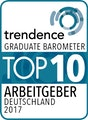 Trendence Top 10 Arbeitgeber Deutschland 2017