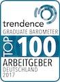 trendence Graduate Barometer Top 100 Arbeitgeber Deutschland 2017