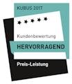 KUBUS-Gütesiegel 2017 Preis-Leistung