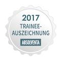 ABSOLVENTA Trainee-Auszeichnung 2017