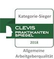 Clevis Praktikanten Siegel 2018