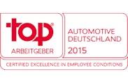 TOP Arbeitgeber Automotive 2015