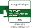"""Kategoriesieger """"Allgemeine Arbeitgeberqualität"""" 2017"""