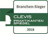Clevis Praktikantenspiegel Branchen-Sieger 2018