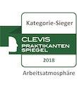 Clevis Praktikantenspiegel Kategorie-Sieger Arbeitsatmosphäre 2018