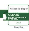 Clevis Praktikantenspiegel Kategorie-Sieger Coaching 2018