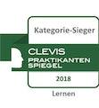 Clevis Praktikantenspiegel Kategorie-Sieger Lernen 2018