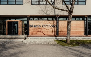 MARC O'POLO Headquarters - Haupteingang