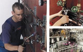 Anlagenmechaniker für Sanitär-, Heizungs- und Klimatechnik sorgen für Wohlbefinden und Umwelttechnik
