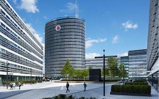 Außenansicht Vodafone Campus Düsseldorf