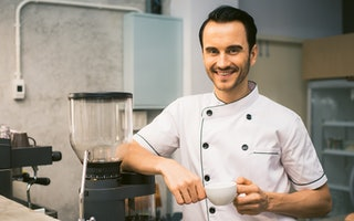 Chef Coffee Cook