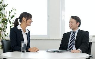 Persona Service - Bewerbungsgespräch