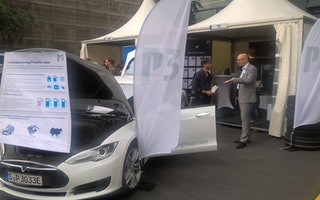 P3 auf dem bonding Automotive Day in Aachen
