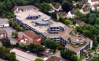 Hauptsitz in Dortmund Luftaufnahme