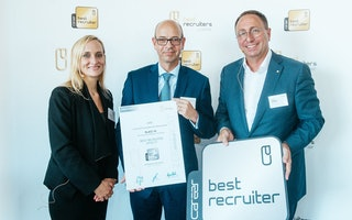 Verleihung Best Recruiter Preis 2016/17