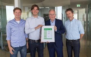 zeb erhält grüne Zertifizierung