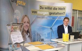 Unser Messeauftritt an der  meet@frankfurt-university
