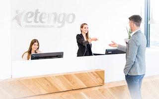 Etengo - Empfangsbereich