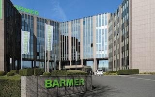 Die BARMER Hauptverwaltung in Wuppertal