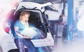Monika: Produktentwicklungsingenieurin