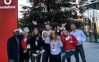 Vodafone Weihnachtsfeier