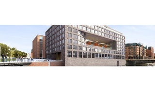 Das Hauptgebäude der Marquard & Bahls AG in Hamburg