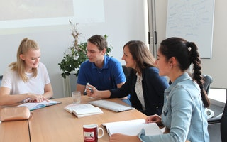 Trainee-Meeting